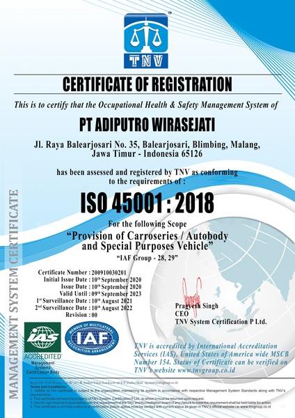 ISO 45001 ADI PUTRO