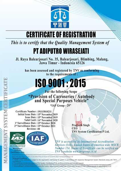 ISO 9001 ADI PUTRO